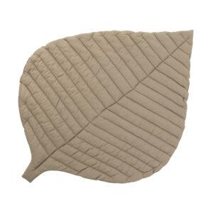 Baby speelkleed Blad / Leaf Tan van Toddlekind - My Little Carpet