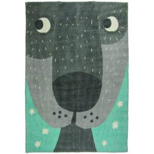 Vloerkleed Annibal The Dog van Nattiot - My Little Carpet