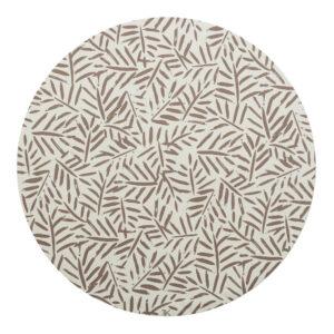 Knoeimat, Clean Wean Mat, Ocean Leaves Tan van Toddlekind - My Little Carpet