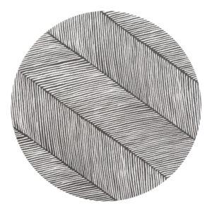 Knoeimat, Clean Wean Mat, Sandy Lines Anchor van Toddlekind - My Little Carpet