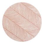 Knoeimat, Clean Wean Mat, Sandy Lines Sea Shell van Toddlekind - My Little Carpet