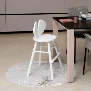 Knoeimat, Clean Wean Mat, Sandy Lines Stone van Toddlekind - My Little Carpet