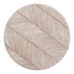Knoeimat, Clean Wean Mat, Sandy Lines Tan van Toddlekind - My Little Carpet