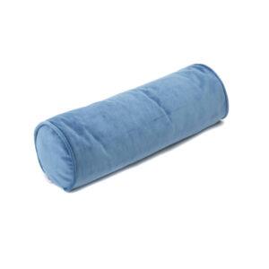Roll Cushion Velvet Deep Blue van Wigiwama - My Little Carpet