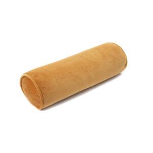 Roll Cushion Velvet Mustard van Wigiwama - My Little Carpet