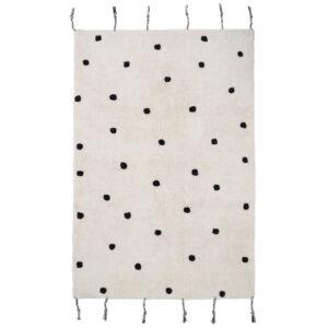 Vloerkleed Dots Black van Nattiot - My Little Carpet