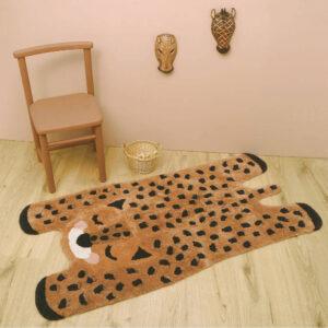 Vloerkleed Little Cheetah van Nattiot - My Little Carpet
