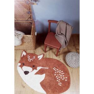 Vloerkleed Little Fox van Nattiot - My Little Carpet