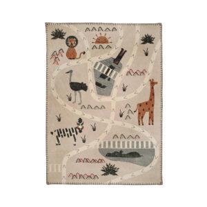 Vloerkleed Little Savanna Stonewashed van Nattiot - My Little Carpet