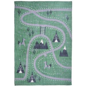 Vloerkleed Little Western Stonewashed van Nattiot - My Little Carpet