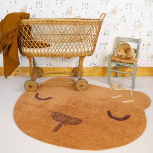 Vloerkleed Sandel Bear van Nattiot - My Little Carpet
