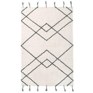 Vloerkleed Viktor Black van Nattiot - My Little Carpet