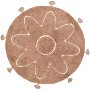 Vloerkleed Yva Bloem van Nattiot - My Little Carpet