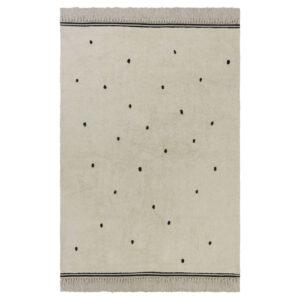 Vloerkleed Emily Dot Cream van Tapis Petit - My Little Carpet