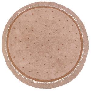 Vloerkleed Juul Dot Pink van Tapis Petit - My Little Carpet