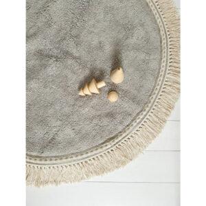 Vloerkleed Lily Grey van Tapis Petit - My Little Carpet