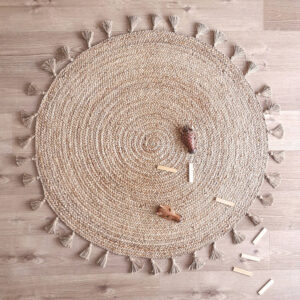 Jute vloerkleed Else van Nattiot - My Little Carpet